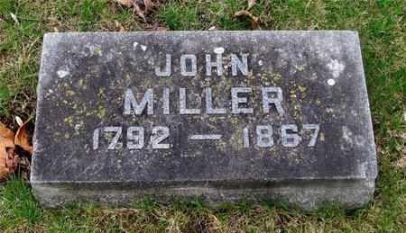 MILLER, JOHN - Franklin County, Ohio   JOHN MILLER - Ohio Gravestone Photos