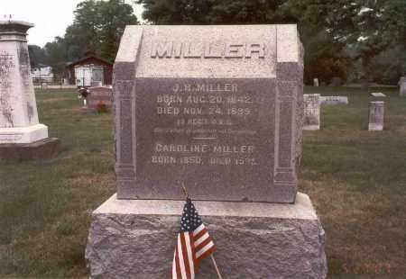 MILLER, CAROLINE - Franklin County, Ohio | CAROLINE MILLER - Ohio Gravestone Photos