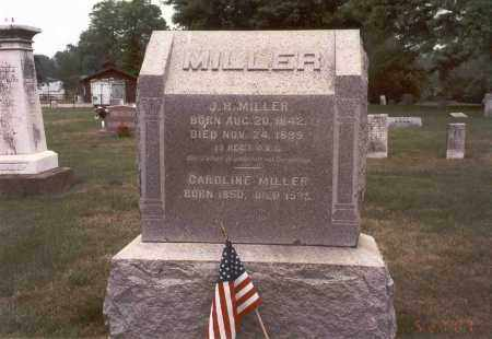 MILLER, J. H. - Franklin County, Ohio | J. H. MILLER - Ohio Gravestone Photos