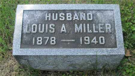 MILLER, LOUIS A. - Franklin County, Ohio | LOUIS A. MILLER - Ohio Gravestone Photos