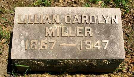 MILLER, LILLIAN CAROLYN - Franklin County, Ohio   LILLIAN CAROLYN MILLER - Ohio Gravestone Photos
