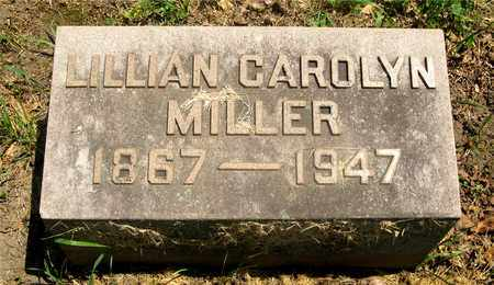 MILLER, LILLIAN CAROLYN - Franklin County, Ohio | LILLIAN CAROLYN MILLER - Ohio Gravestone Photos