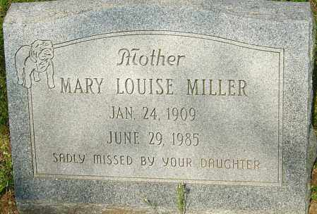 MILLER, MARY LOUISE - Franklin County, Ohio | MARY LOUISE MILLER - Ohio Gravestone Photos