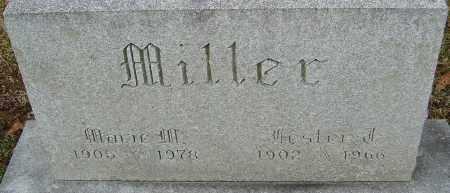 MILLER, MARIE M - Franklin County, Ohio   MARIE M MILLER - Ohio Gravestone Photos