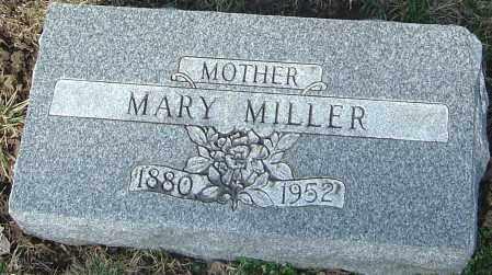 MILLER, MARY - Franklin County, Ohio   MARY MILLER - Ohio Gravestone Photos
