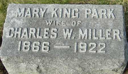 MILLER, MARY KING - Franklin County, Ohio | MARY KING MILLER - Ohio Gravestone Photos