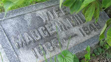 MILLER, MADGE H. - Franklin County, Ohio | MADGE H. MILLER - Ohio Gravestone Photos