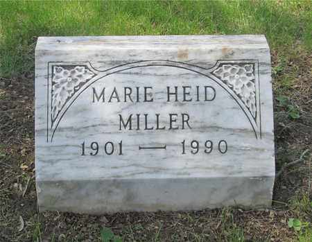 HEID MILLER, MARIE - Franklin County, Ohio | MARIE HEID MILLER - Ohio Gravestone Photos