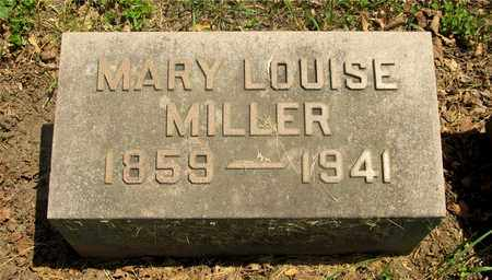 MILLER, MARY LOUISE - Franklin County, Ohio | MARY LOUISE MILLER - Ohio Gravestone Photos
