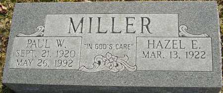 MILLER, PAUL W - Franklin County, Ohio   PAUL W MILLER - Ohio Gravestone Photos