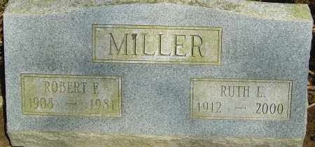 MILLER, ROBERT F - Franklin County, Ohio | ROBERT F MILLER - Ohio Gravestone Photos