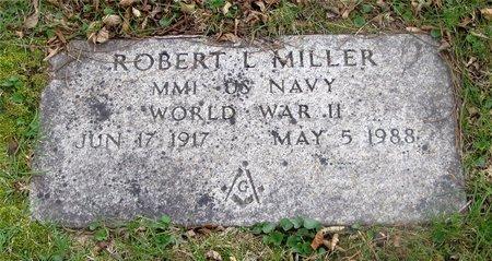 MILLER, ROBERT L. - Franklin County, Ohio   ROBERT L. MILLER - Ohio Gravestone Photos