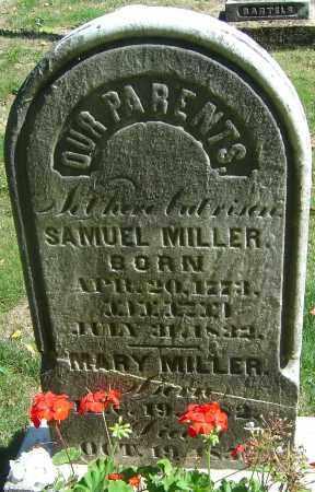 MILLER, SAMUEL - Franklin County, Ohio   SAMUEL MILLER - Ohio Gravestone Photos