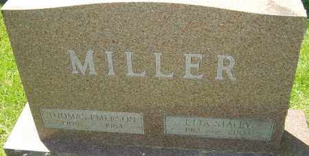 MILLER, ETTA - Franklin County, Ohio | ETTA MILLER - Ohio Gravestone Photos
