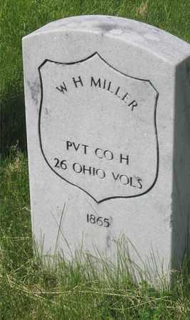 MILLER, W. H. - Franklin County, Ohio | W. H. MILLER - Ohio Gravestone Photos