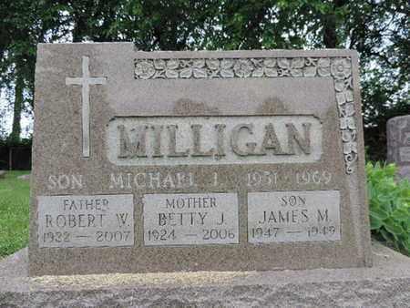 MILLIGAN, BETTY J. - Franklin County, Ohio | BETTY J. MILLIGAN - Ohio Gravestone Photos