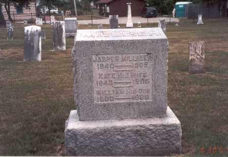 MILLISER, KATE - Franklin County, Ohio | KATE MILLISER - Ohio Gravestone Photos