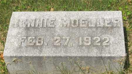 MOELLER, JENNIE - Franklin County, Ohio | JENNIE MOELLER - Ohio Gravestone Photos