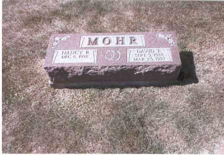 MOHR, DAVID E. - Franklin County, Ohio | DAVID E. MOHR - Ohio Gravestone Photos