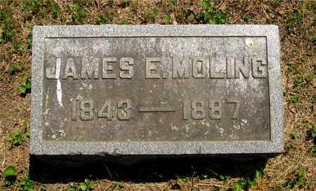 MOLING, JAMES E. - Franklin County, Ohio   JAMES E. MOLING - Ohio Gravestone Photos