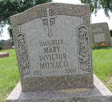 MONACO, MARY - Franklin County, Ohio   MARY MONACO - Ohio Gravestone Photos