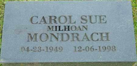 MONDRACH, CAROL SUE - Franklin County, Ohio | CAROL SUE MONDRACH - Ohio Gravestone Photos