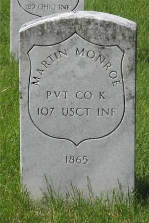 MONROE, MARTIN - Franklin County, Ohio   MARTIN MONROE - Ohio Gravestone Photos