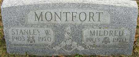 MONTFORT, STANLEY W - Franklin County, Ohio | STANLEY W MONTFORT - Ohio Gravestone Photos