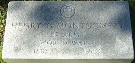 MONTGOMERY, HENRY G - Franklin County, Ohio   HENRY G MONTGOMERY - Ohio Gravestone Photos