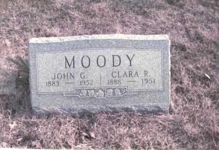 MOODY, CLARA B. - Franklin County, Ohio | CLARA B. MOODY - Ohio Gravestone Photos