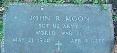 MOON, JOHN R - Franklin County, Ohio | JOHN R MOON - Ohio Gravestone Photos