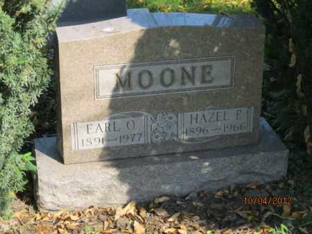 MOONE, EARL ORLANDO - Franklin County, Ohio | EARL ORLANDO MOONE - Ohio Gravestone Photos