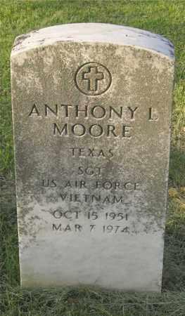 MOORE, ANTHONY L. - Franklin County, Ohio | ANTHONY L. MOORE - Ohio Gravestone Photos