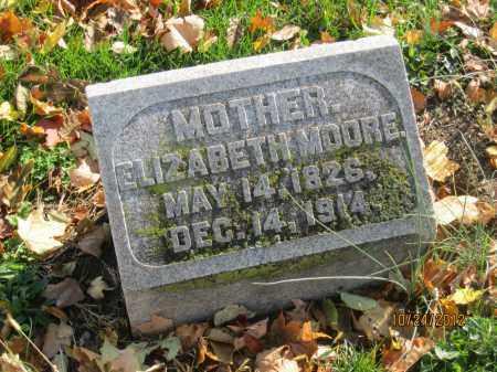 HUTCHISON MOORE, ELIZABETH - Franklin County, Ohio | ELIZABETH HUTCHISON MOORE - Ohio Gravestone Photos