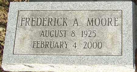 MOORE, FREDERICK A - Franklin County, Ohio   FREDERICK A MOORE - Ohio Gravestone Photos