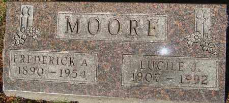 MOORE, LUCILE J - Franklin County, Ohio | LUCILE J MOORE - Ohio Gravestone Photos