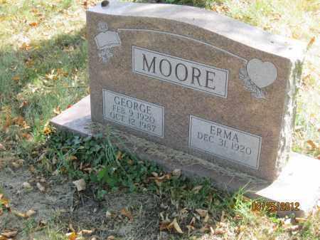 MOORE, GEORGE - Franklin County, Ohio | GEORGE MOORE - Ohio Gravestone Photos