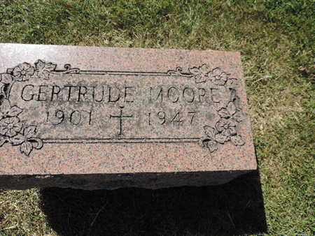 MOORE, GERTRUDE - Franklin County, Ohio | GERTRUDE MOORE - Ohio Gravestone Photos