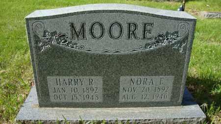 WASHBURN MOORE, NORA E - Franklin County, Ohio | NORA E WASHBURN MOORE - Ohio Gravestone Photos