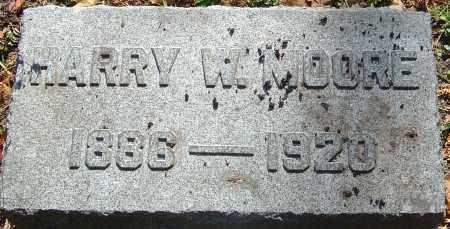 MOORE, HARRY W - Franklin County, Ohio | HARRY W MOORE - Ohio Gravestone Photos