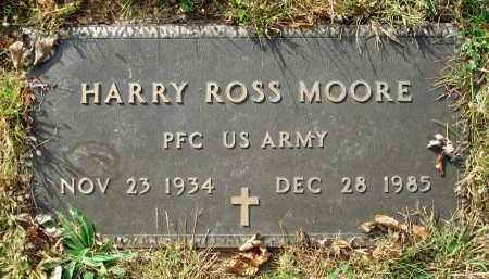 MOORE, HARRY ROSS - Franklin County, Ohio | HARRY ROSS MOORE - Ohio Gravestone Photos