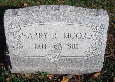 MOORE, HARRY R. - Franklin County, Ohio | HARRY R. MOORE - Ohio Gravestone Photos