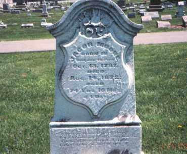 MOORE, JACOB - Franklin County, Ohio | JACOB MOORE - Ohio Gravestone Photos
