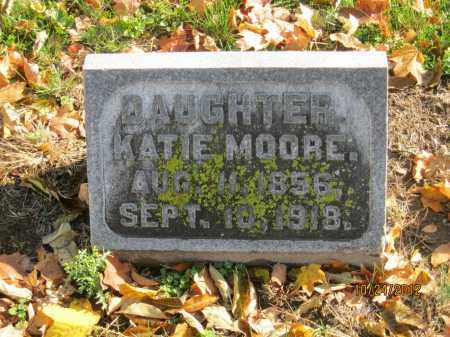 MOORE, KATIE - Franklin County, Ohio   KATIE MOORE - Ohio Gravestone Photos
