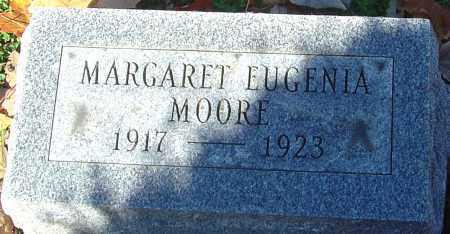 MOORE, MARGARET EUGENIA - Franklin County, Ohio | MARGARET EUGENIA MOORE - Ohio Gravestone Photos