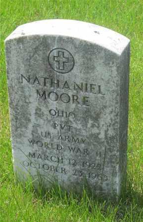 MOORE, NATHANIEL - Franklin County, Ohio | NATHANIEL MOORE - Ohio Gravestone Photos