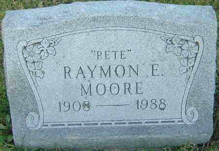 "MOORE, RAYMON E ""PETE"" - Franklin County, Ohio 