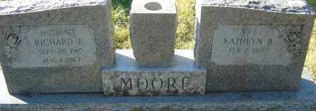 MOORE, RICHARD F - Franklin County, Ohio | RICHARD F MOORE - Ohio Gravestone Photos