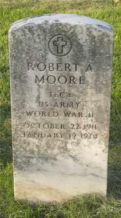 MOORE, ROBERT A. - Franklin County, Ohio   ROBERT A. MOORE - Ohio Gravestone Photos