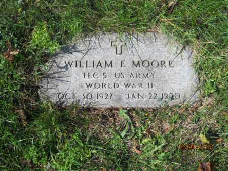 MOORE, WILLIAM ERNEST - Franklin County, Ohio | WILLIAM ERNEST MOORE - Ohio Gravestone Photos